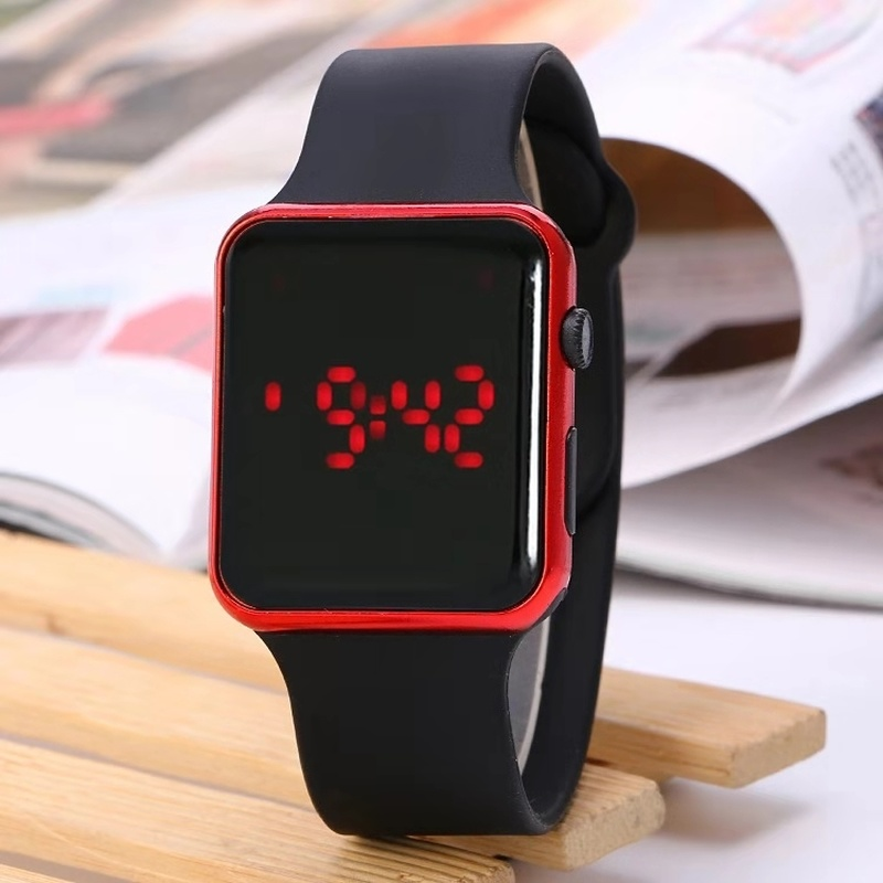 Children's watch 3D animated cartoon dog LDE puppy children's watch luxury silicone quartz children's watch girl boy watch gift