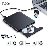 External USB 3.0 High Speed DL DVD RW Burner CD Writer Portable Optical Drive for Asus Samsung Acer Dell Universal SONY HP