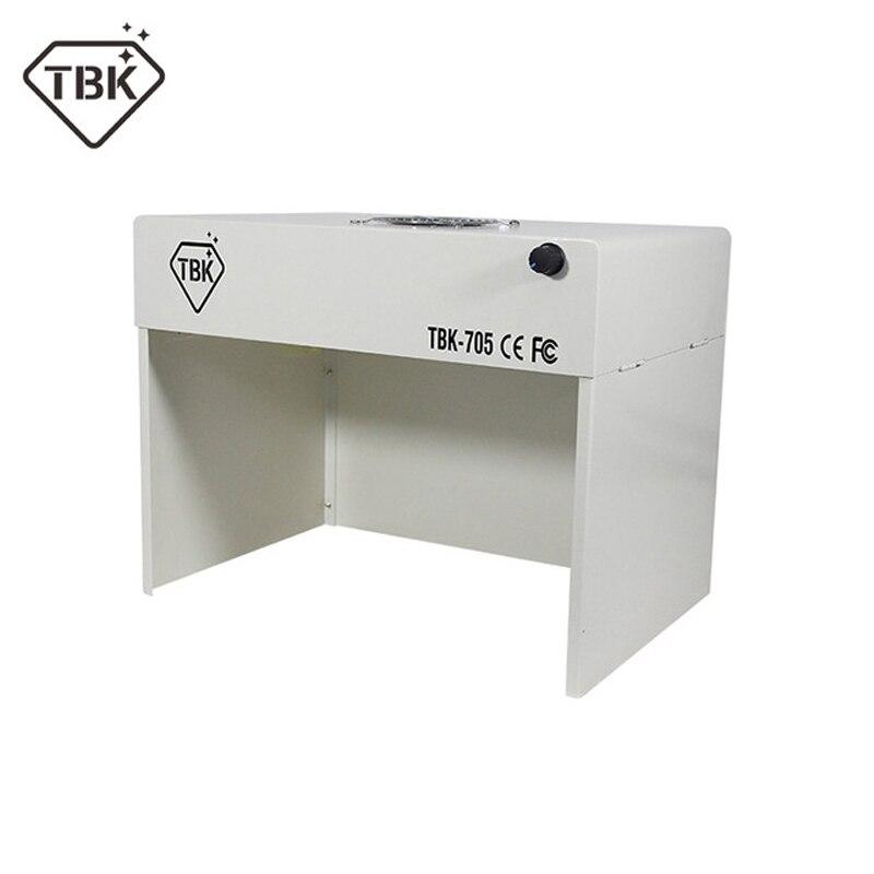 TBK 705 мини пыли очистки верстак Dustfree Рабочая комната скамейка чистый стол