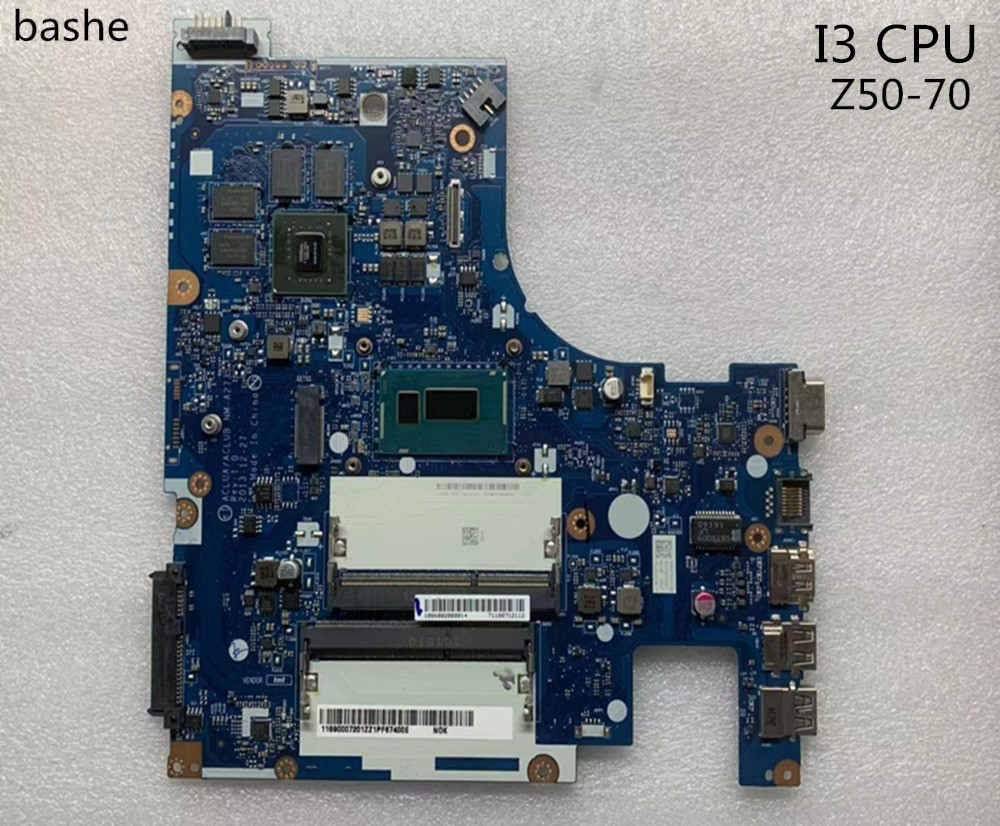 For lenovo Z50 70 Laptop motherboard CPU I3 100 fully tested
