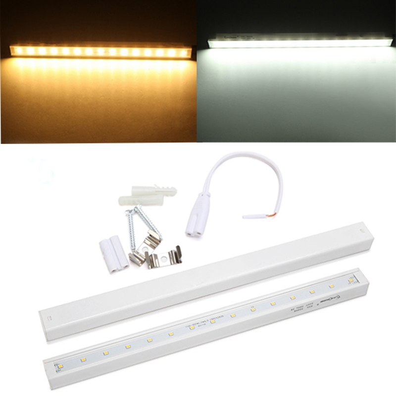 Jiguoor T5 28CM 3W White/Warm White LED Bar Light Rigid LED Strip Tube Light AC 220V SMD 2835 zhishunjia zsj06 3 e27 3w 250lm 6000k 10 smd 2835 led white light lamp white ac 85 265v