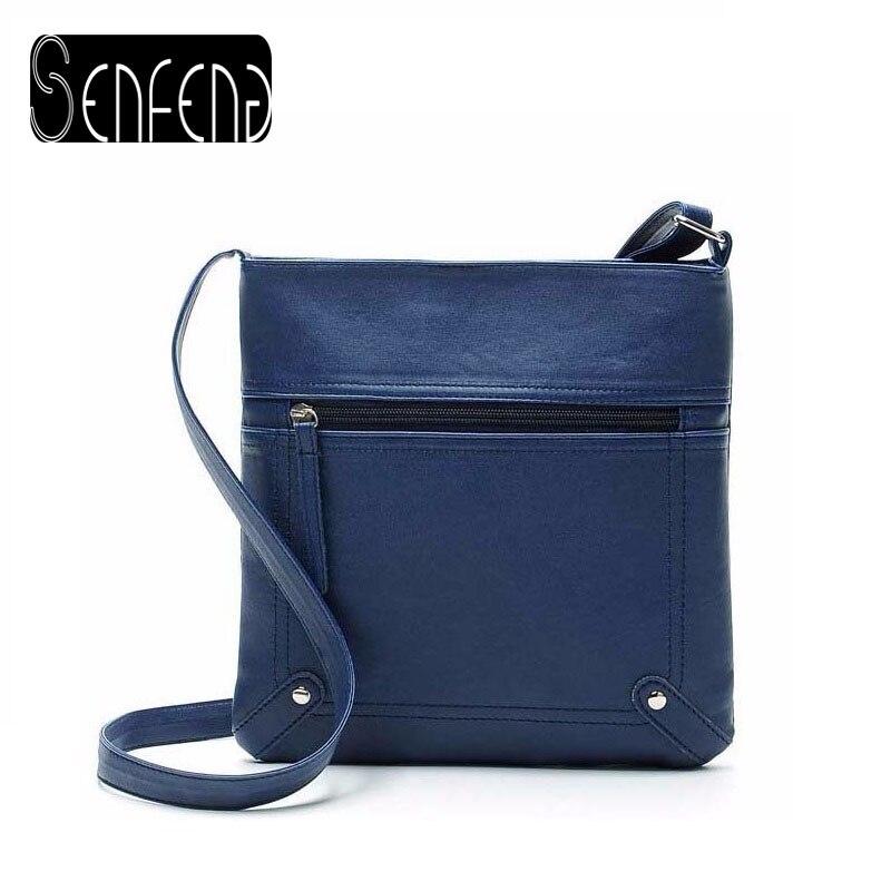2017 Hot Sale Fashion women messenger Bags women handbag pu leather bags cross b