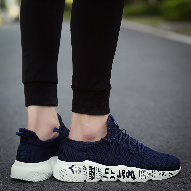 Mens Summer Mesh Breathable Super Light Weave Casual Sneakers Comfortable Beach Men Shoes Fashion Plus Size 39 46 in Men 39 s Casual Shoes from Shoes