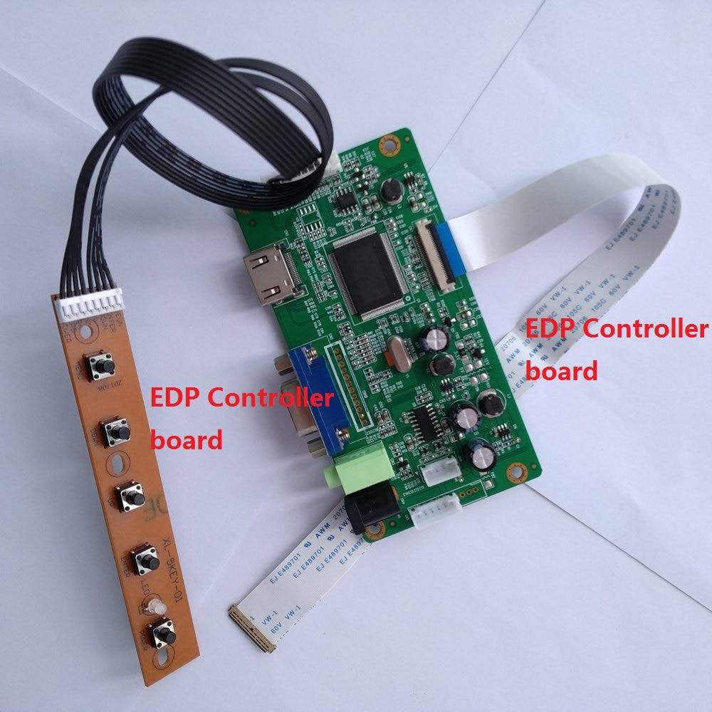 HDMI VGA LCD EDP Controller Board Kit Monitor for LTN140KT13-301 1600X900 Panel