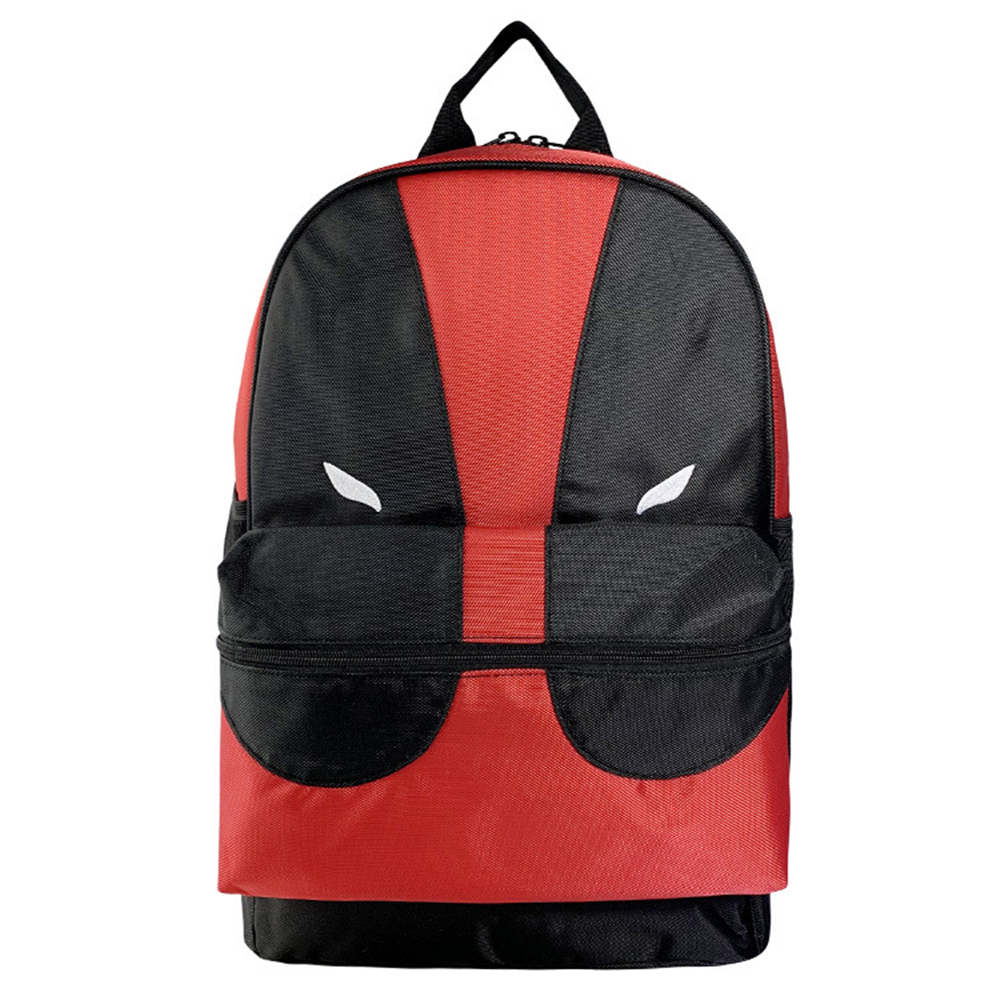 New anime cosplay Deadpool backpack superhero Deadpool dead waiter shoulder bag bag unisex