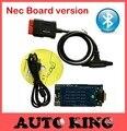 Nec chip bordo versión! con bluetooth (2015.1 dvd de software) obd2 coche escáner tcs Cdp Favorable Para los coches y camiones
