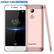 Doogee HOMTOM ht37 Pro 5.0 дюймов HD смартфон двойной Динамик MTK 6737 3 ГБ + 32 ГБ Android 7.0 13MP 3000 мАч отпечатков пальцев ID мобильного телефона
