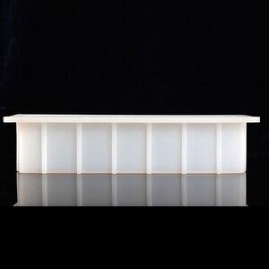 Image 5 - Nicole Ổ Bánh Xà Phòng Khuôn Silicon Chữ Nhật Trắng Tay Xoáy Xà Phòng Dụng Cụ Làm Khuôn Mẫu
