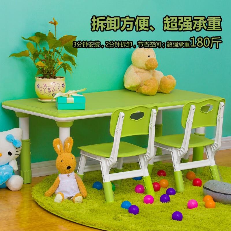 Plastic Kids Furniture Sets Kids Chairs Study Table