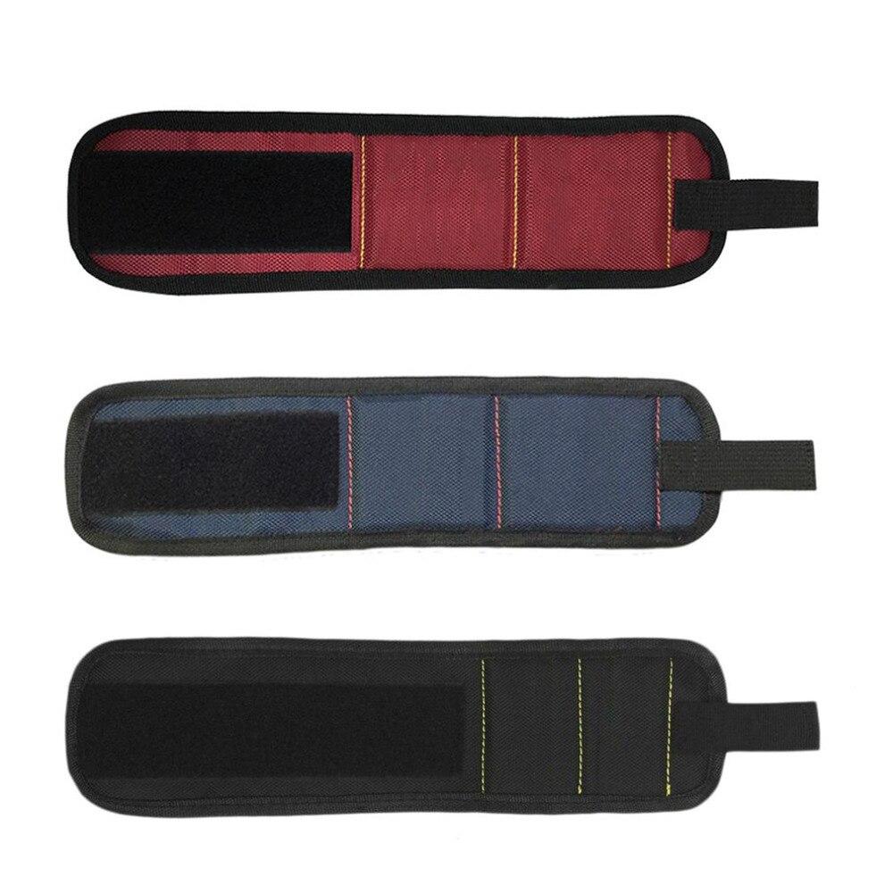 Супер магнитные браслеты магниты Холдинг ножницы инструменты обустройство дома ремешок пикап Ремонт Инструменты