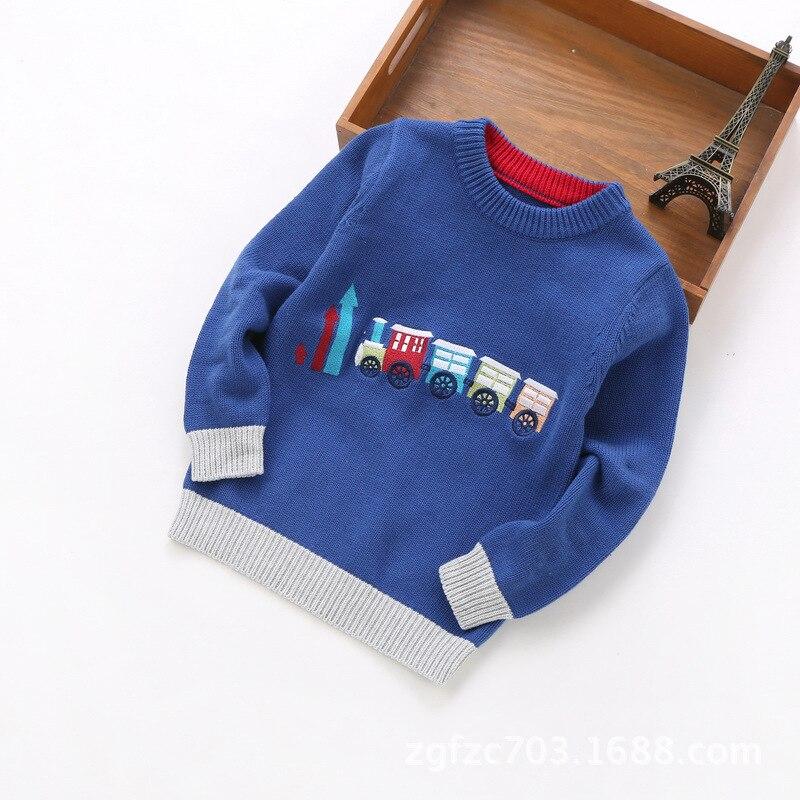 Новинка 2018 года, одежда для мальчиков от 2 до 6 лет, свитер для мальчиков, #8052
