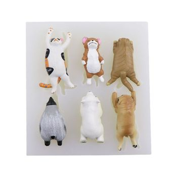 Super Cute Sleepy Animals Cat Dog Bear Silicone Jewelry Molds Resin Mold Making Tool