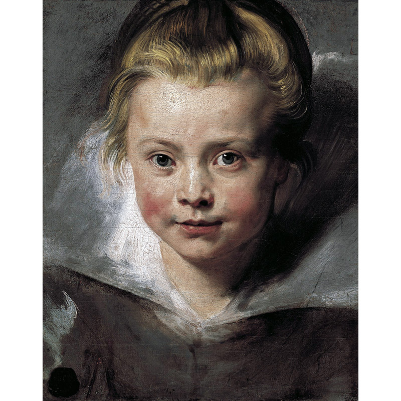 "oil painting on canvas cotton core <font><b>Peter</b></font> <font><b>Paul</b></font> <font><b>Rubens</b></font> "" Portrait of Clara Serena, daughter of <font><b>Rubens</b></font> and Isabella Brant "" YGH283"