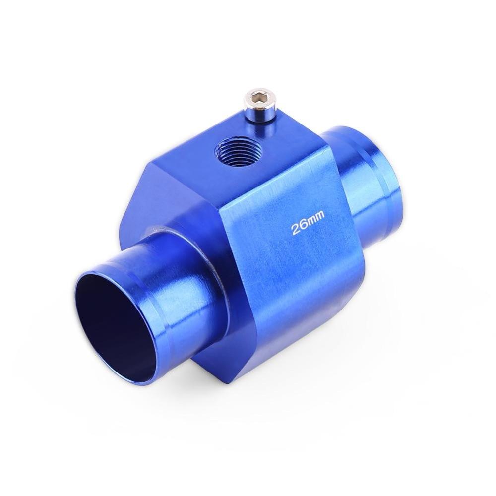 Alluminio 40mm blu 26mm 30mm Calibro universale per tubo acqua Tubo per giunto Temperatura acqua Tubo flessibile per giunto Tubo flessibile per radiatore Adattatore