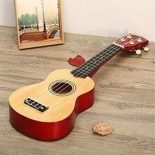 21 Inch 12 Fret Basswood Ukulele Four Strings Instrument 7 Colors Hawaiian Ukulele for beginners or Basic players