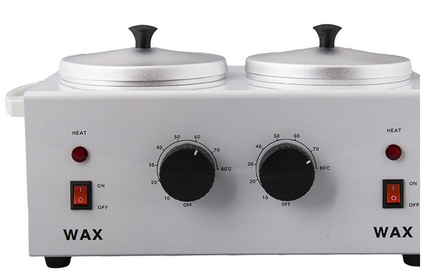 ФОТО Double pot hot wax machine Double temperature kerotherapy pan beauty kerotherapy machine kerotherapy kerotherapy care instrument