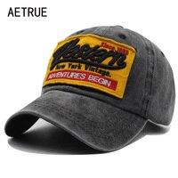 AETRUE модные бейсбол кепки для женщин шапки для мужчин Snapback шляпа хлопок Bone хип хоп мужской женский Дальнобойщик бейсболка, кепка папа кепки s