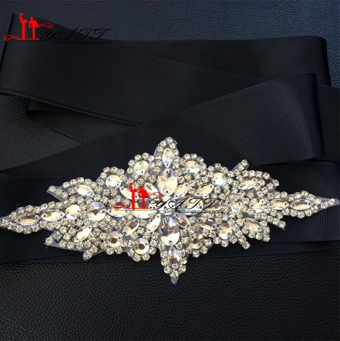 New-Promotion-Crystals-Robbin-Sash-for-Bride-Artificial-Wedding-Belt-for-Weddings-Real-Images (1)