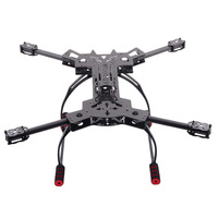 FPV HJ H4 Reptile 4 Axis Quadcopter Carbon Fiber Folding Frame Kit with Landing Gear