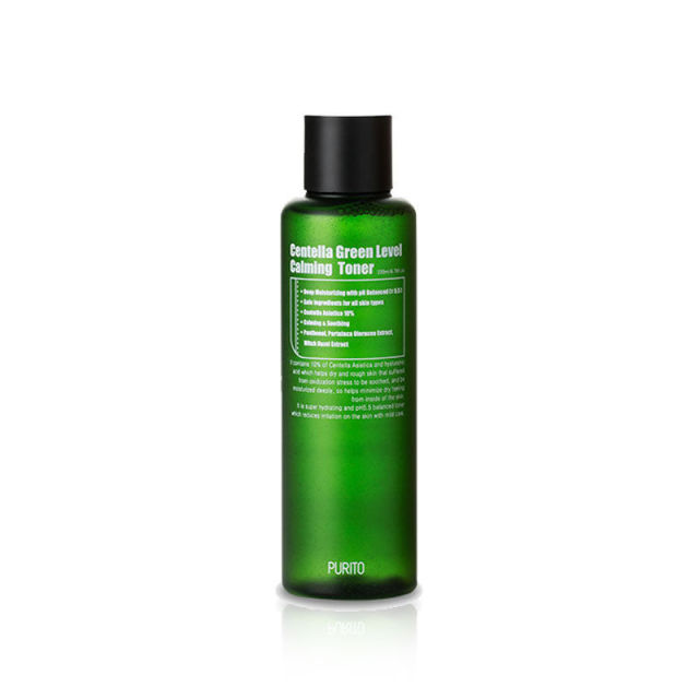 PURITO Centella Green Level Calming Toner 200ml Moisturizing Toners Facial Skin Care Anti Aging Oil Control Treatment