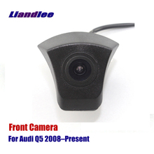 Liandlee For Audi Q5 2008-Present 2010 2015 2017 2018 AUTO CAM Car Front View Camera ( Not Reverse Rear Parking Camera ) цены онлайн