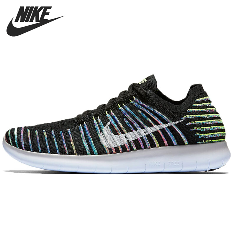 цена на Original WMNS NIKE FREE RN FLYKNIT Women's Running Shoes Sneakers free shipping