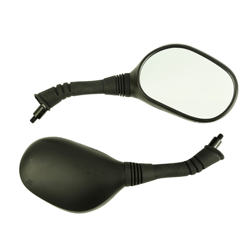 Universal 8mm Motorcycle Right Left Side Back Mirror Assy Scooter E-Bike Rearview RightLeft Hand Thread OEM for HONDA