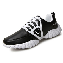 New Man Sports Routines Running Shoes Breathable Outdoor Jogging Shoes Male Leather Walking Trainer Sneakers Y1803