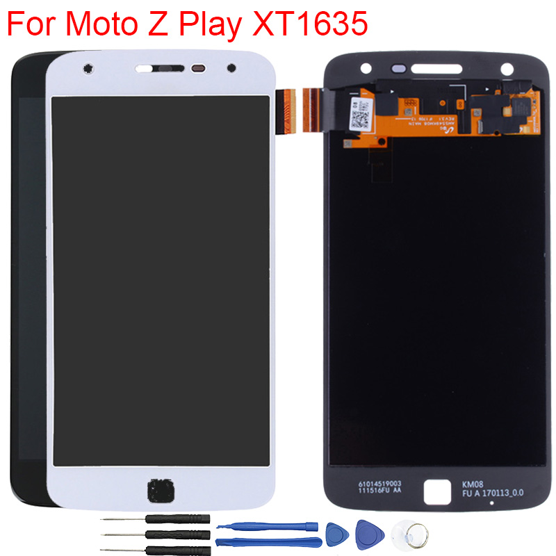Original <font><b>LCD</b></font> For <font><b>Moto</b></font> <font><b>Z</b></font> <font><b>Play</b></font> Display Amoled Touch Screen 5.5 Inch <font><b>LCD</b></font> Display For Motorola <font><b>Moto</b></font> <font><b>Z</b></font> <font><b>Play</b></font> <font><b>XT1635</b></font> <font><b>LCD</b></font> Display image
