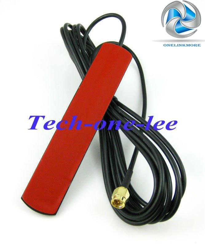 imágenes para 10 unids/lote 2dbi-3dbi 824-960 Mhz 1710-1990 Mhz GSM antena SMA conector macho conector de señal repetidor de refuerzo teléfono GMS Antena