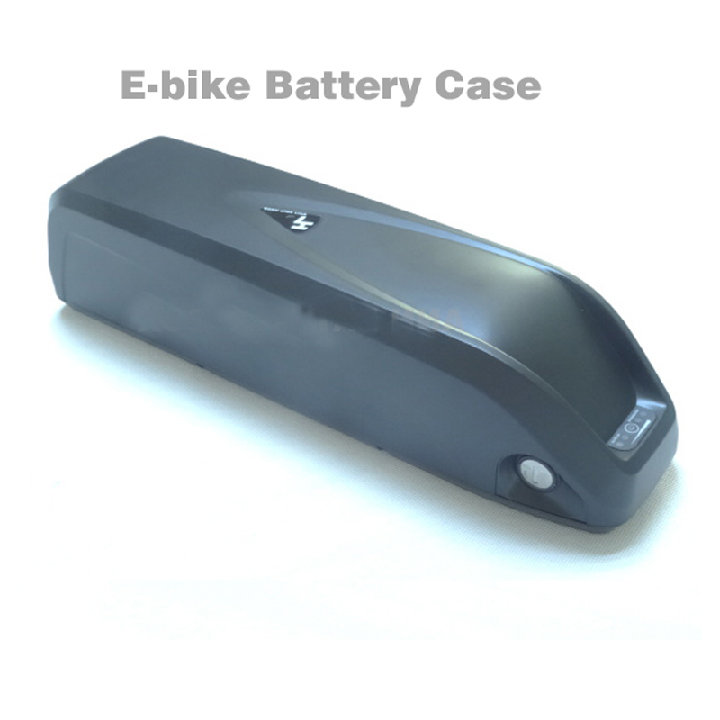 GTF 36V/48V lithium battery box E-bike battery case For DIY 36V or 48V 10Ah-15Ah li-ion battery pack With free 18650 cell holder conhismotor electric bicycle lithium battery 18650 cell 48v 13 2ah seat tube high capacity e bike li ion polymer batteries