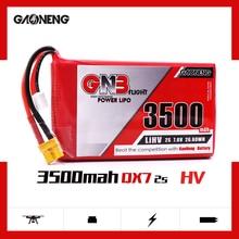 بطارية ليبو Gaoneng GNB 3500mAh 2S1P 7.6V 2C/4C HV لـ frysky Taranis QX7 جهاز إرسال TX أجزاء جهاز التحكم عن بعد RC