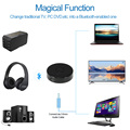 Bluetooth Transmitter Portable Bluetooth 4.0 Audio Adapter Transmitting 2 Devices Simultaneously for  TV DVD PC CD Player MP3/4