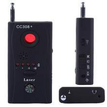 EU plug Wireless RF Signal Detector CC308+ Multi Function Camera Bug GPS Laser GSM WiFi Full-range