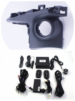 Engine Start Stop System Push Button For Toyota Camry With Button Cover+Smartphone App Remote Control