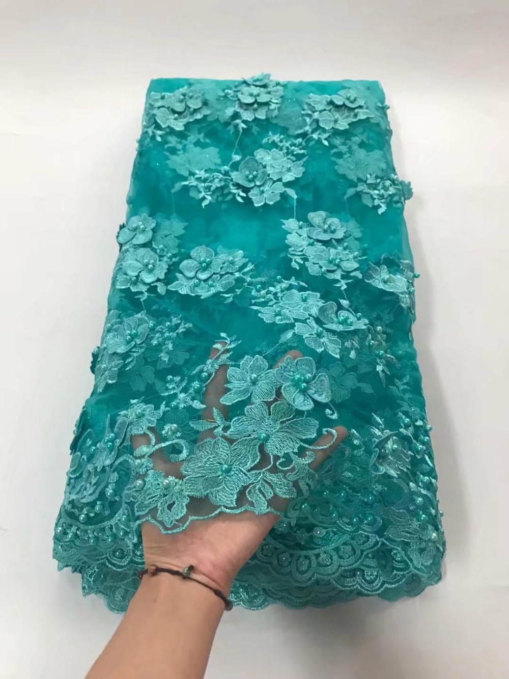 Spitze Stoff Us 119 1 5 Yards Lot Jy 718 1 Beliebte Design Bestickt Franzosisch Spitze Stoff Fur Party Kleid African Tull Stoff Tull Stoff In Lace From Home