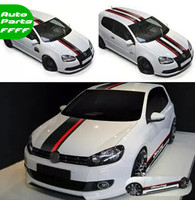 Car Hood Roof Tail Sticker Auto Whole Body Decorative Decal Sport Styling For Ford Focus 2/3 Polo Golf 6/7 KIA K3 K5 308