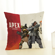 RECOLOUR  Hot Game APEX LEGENDS Cotton Linen Cushion Cover  throw pillows  Home Decor Pillowcase   pillow cover Sofa cojines recolour hot game apex legends cotton linen cushion cover throw pillows home decor pillowcase pillow cover sofa cojines