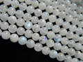 Freeshipping (55 beads/set) wholesale natural A+ 7-7.5mm moonstone round  beads stone for jewelry