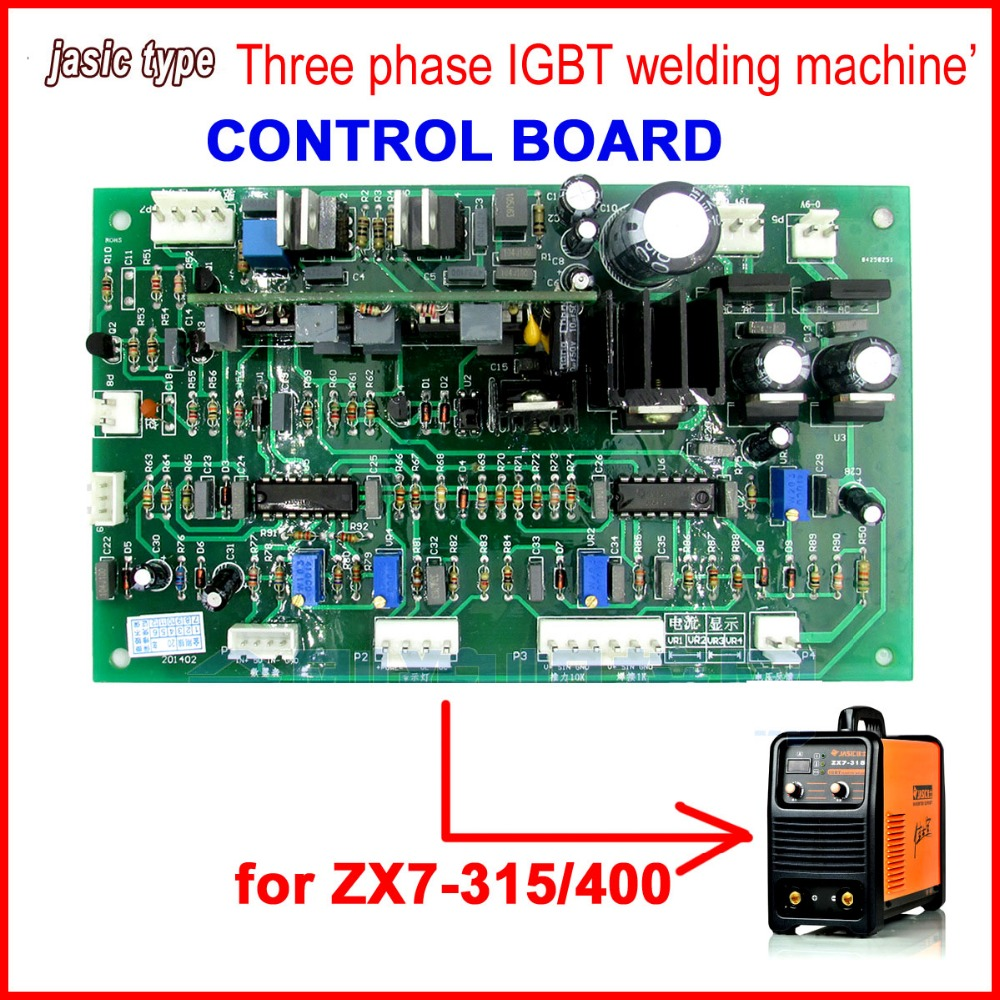 Free shipping ZX7 315 400 Control card for jasic IGBT dc inverter mma welding machine high quality jasic dc dc inverter welding equipment inverter welder zx7 225 igbt welding machine