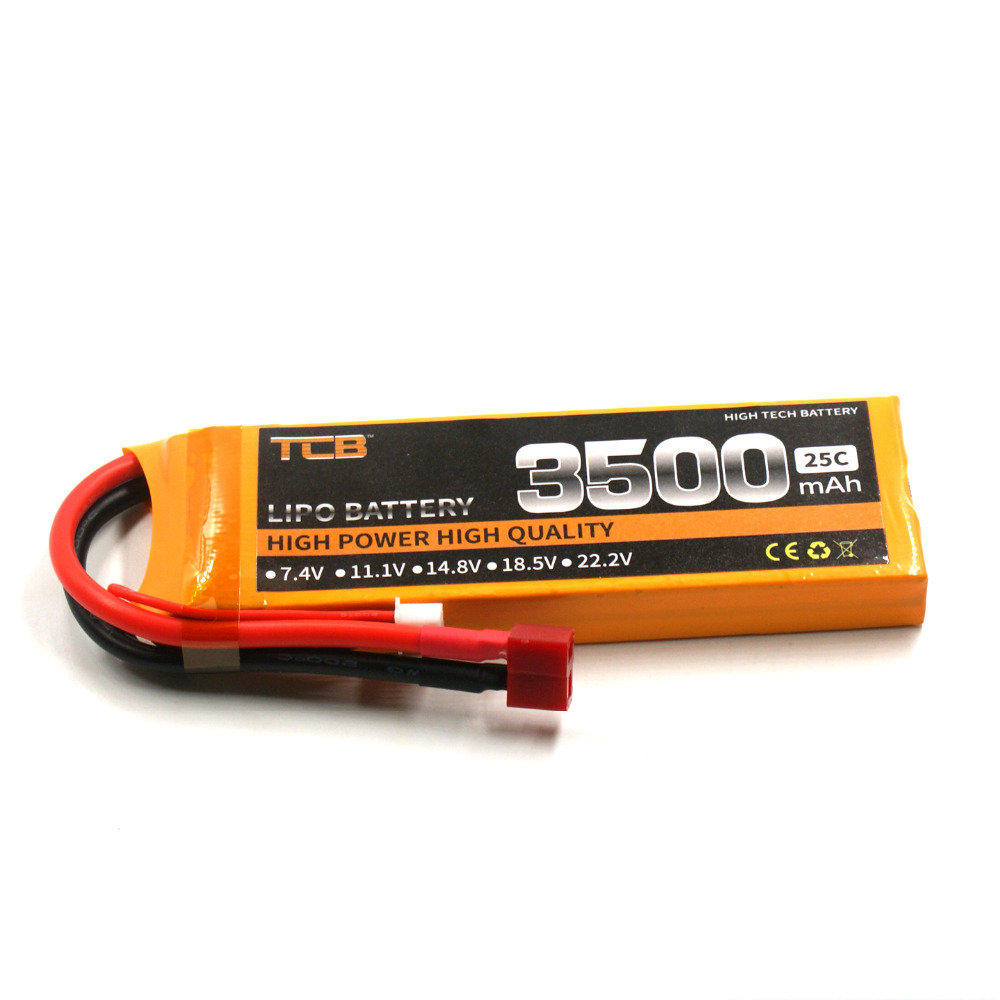 TCB RC lipo battery 7.4v 3500mAh 25C 2s for rc airplane helicopter drone Li-po batteria cell AKKU free shipping cactus cs ga420050ed a4 200г м2 глянцевая фотобумага для струйной печати 50 листов