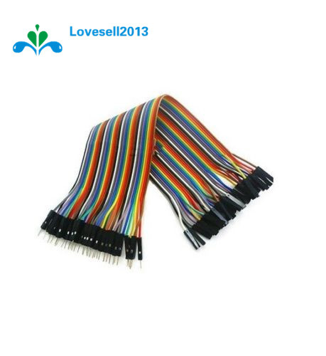 Male To Female Dupont Line 40pcs Dupont Cable Jumper Wire Dupont Line 2.54MM 20cm For Arduino