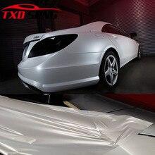 Vinilo de cerámica blanca para envolver el coche, Perla cromada, película satinada blanca mate, 1,52x5m/10m/15m/20m, envío gratis