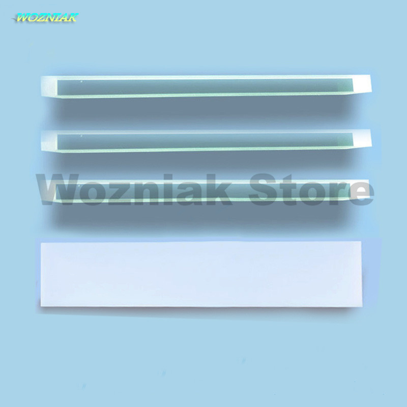 Wozniak High transmittance quartz strip glass for Quartz strip for LCM hot press High precision and high purity