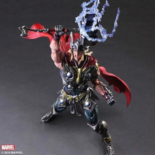 Новый горячий 28 см Мстители Тор расширенная версия коллекционеров фигурка героя игрушки Рождество куклы