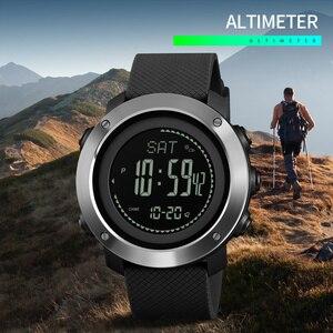 SKMEI 1418 спортивные мужские и женские часы, скалолазание, высота, давление, компас, шагомер, секундомер, электронные часы, мужские часы