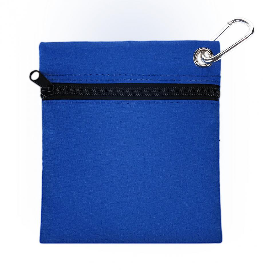Storage-Bag-Holder Tee-Ball-Bag Golfing-Accessories Nylon with Carabiner Zippered 16--14cm
