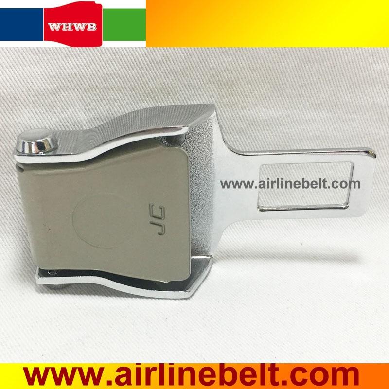 Funny Car Seat Belt Buckle Extender Airplane Buckle Design