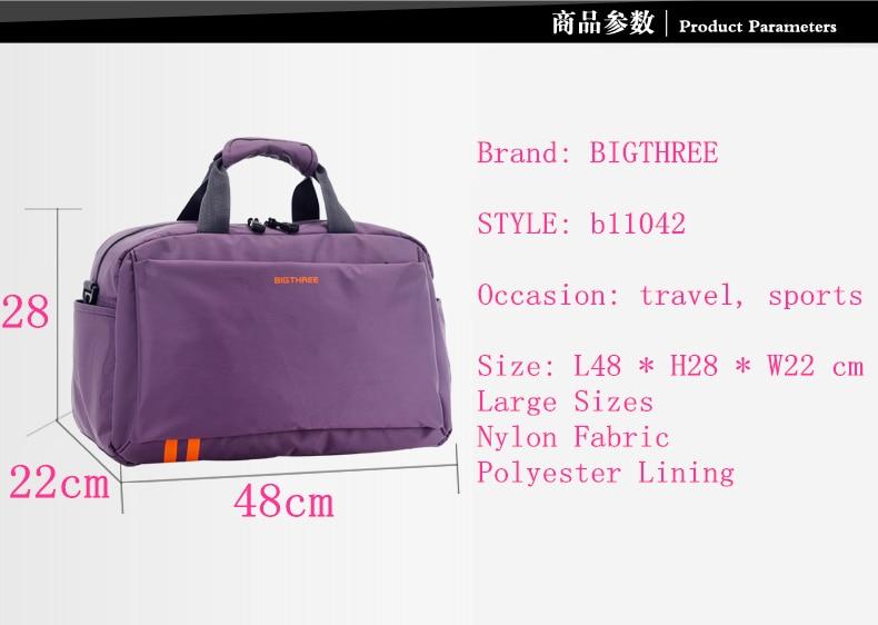 Aliexpress.com : Buy Travel bag Minimalist style handbag big size ...