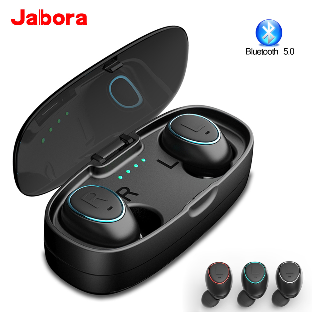 HTK18 <font><b>TWS</b></font> Wireless Earphone 5.0 Bluetooth Sports Headset Deep Bass Stereo Sound Earbuds pk <font><b>i14</b></font> i20 i60 i80 airdots <font><b>tws</b></font> Earphones image